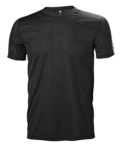 Helly Hansen Men's HH LIFA T Short Sleeve Baselayer, Black, S from Helly Hansen
