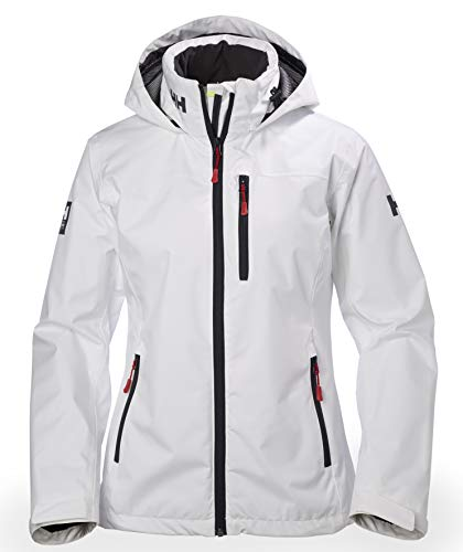 Helly Hansen Women's Crew Hooded Midlayer Jacket, White, Large from Helly Hansen