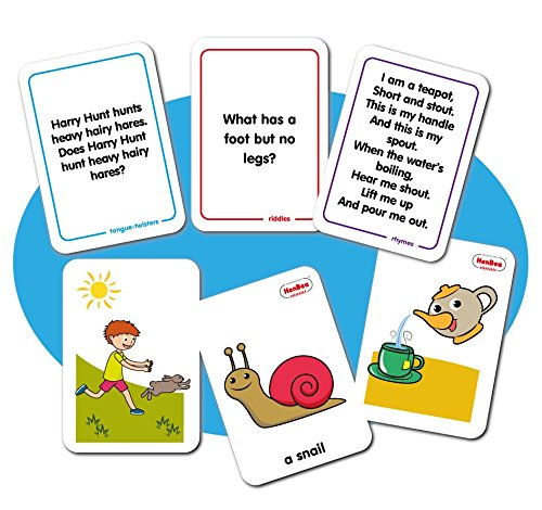 Henbea – Quizzes, Cards Rhyming And Trabalenguas in English (999/I) from Henbea