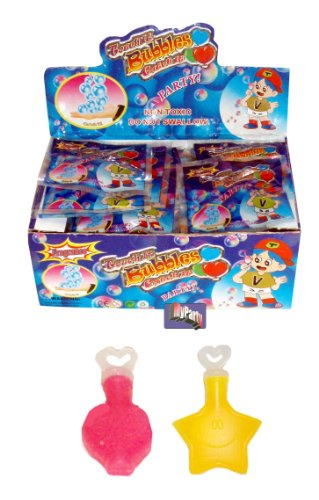 48 Mini Touchable Bubbles For Birthday Party Bags PTY from henbrandt