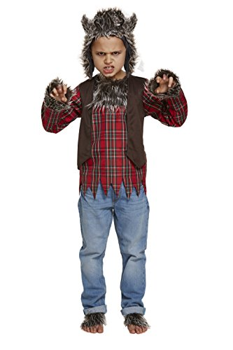 Children's Halloween Werewolf Fancy Dress Costume 10 - 12 Years (Large) from HENBRANDT