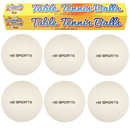HENBRANDT Table Tennis Balls (6pc) from HENBRANDT