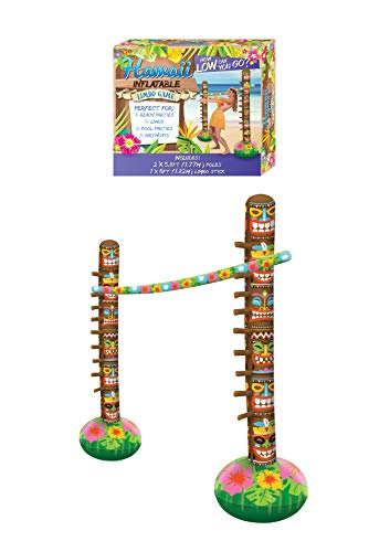 HENBRANDT Inflatable Hawaiian Limbo Bar Game from HENBRANDT