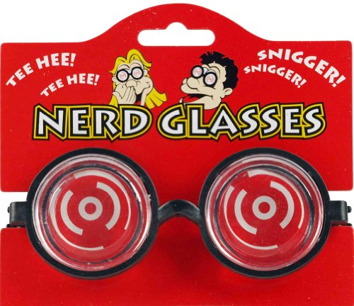 Henbrandt Novelty Joke 'Nerd' Glasses from HENBRANDT