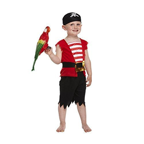 Pirate Boy Costume for Toddlers (3 Years) from HENBRANDT