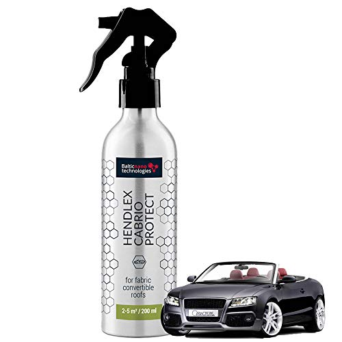Hendlex Cabrio Convertible Top Protectant Spray And Repellent | Water Repellent Cabriolet Roof 200ml from Hendlex