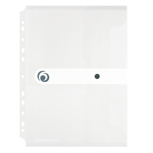 Herlitz A4 Filing Paper Document Folder - Transparent Colourless (Pack of 6) from herlitz
