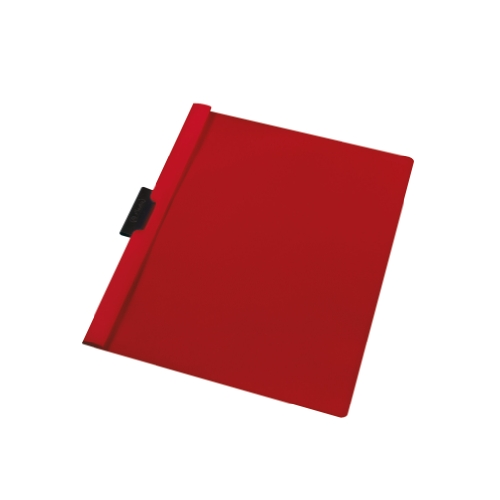 Herlitz A4 Spine Clip File with 30 Sheets Capacity - Red (5 Pieces) from herlitz