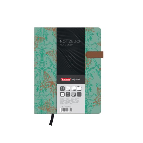 Herlitz A6 My Book Lady Butterfly Design Hardcover Notebook with Magnetic Closure and Pen Loop from herlitz