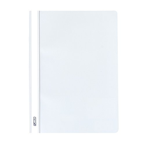 Herlitz File Folder A4 Polypropylene with Transparent Cover White from herlitz