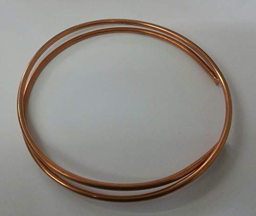"3ft Coil 1/8""OD 22SWG Copper Tubing Tube Pipe - Steam Model Engineers from Hetcoil"