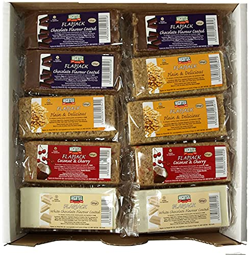 Higates Vegetarian Flapjacks Mixed Case 120g (Box of 30) from Higates