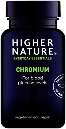 Higher Nature Chromium 200µg 90 tablets from Higher Nature