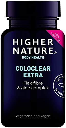Higher Nature Coloclear Extra with Added Fibre Capsules Pack of 90 from Higher Nature