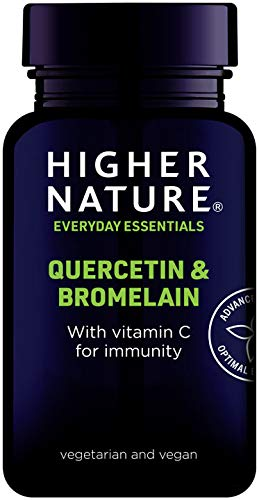 Higher Nature Quercetin & Bromelain Pack of 60 from Higher Nature