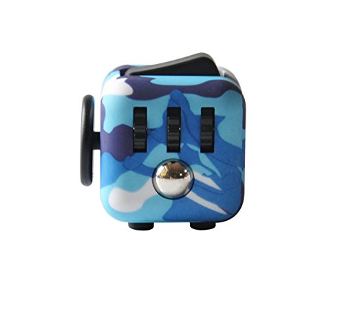 Highline Fidget Cube Fidget Toy for ADD and Stress Relief Fidget Sensory toys for Adults and Children (Camo) from Highline Fidget Cube Fidget Toy for ADD, Stress Relief Fidget Sensory Gadget for Adults and Children