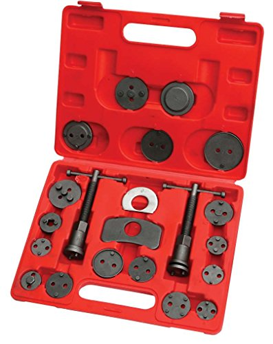 Hilka Tools 12700210 Left and Right Hand Brake Caliper Rewind Tool Kit, Set of 21 from Hilka