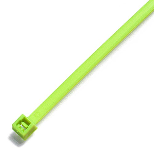 TR8 100pc packs Fluorescent Nylon Cable Ties 300 x 4.8mm All Neon Colours