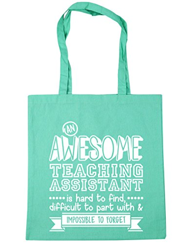 HippoWarehouse An Awesome Teaching Assistant is Hard to Find, Difficult to Part With & Impossible to Forget Tote Shopping Gym Beach Bag 42cm x38cm, 10 litres from Hippowarehouse