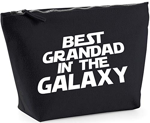 Hippowarehouse Best Grandad in the Galaxy printed make up cosmetic wash bag 18x19x9cm from Hippowarehouse