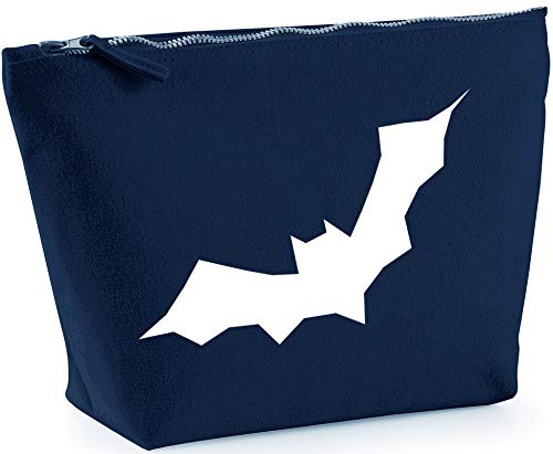 Hippowarehouse Halloween bat printed make up cosmetic wash bag 18x19x9cm from Hippowarehouse
