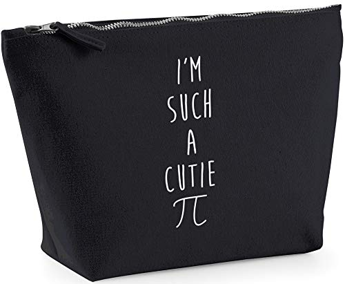 Hippowarehouse I'm such a cutie pi printed make up cosmetic wash bag 18x19x9cm from Hippowarehouse