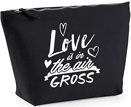 Hippowarehouse Love Is In The Air Gross printed make up cosmetic wash bag 18x19x9cm from Hippowarehouse