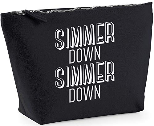 Hippowarehouse Simmer down Simmer down printed make up cosmetic wash bag 18x19x9cm from Hippowarehouse