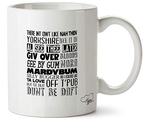 Hippowarehouse There int owt Like Nah Then Yorkshire Printed Mug Cup Ceramic 10oz from Hippowarehouse