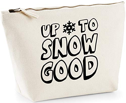 Hippowarehouse Up to Snow Good printed make up cosmetic wash bag 18x19x9cm from Hippowarehouse