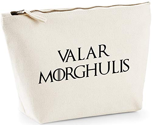 Hippowarehouse Valar morghulis printed make up cosmetic wash bag 18x19x9cm from Hippowarehouse