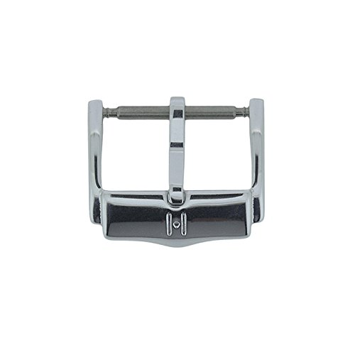 Hirsch H-Catwalk Buckle in Silver Tone (24mm) from Hirsch