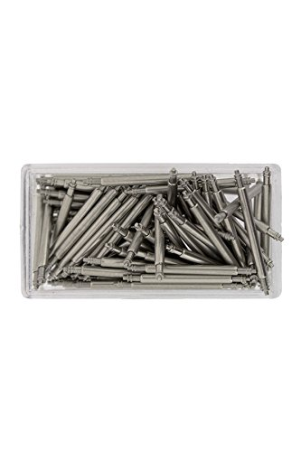 Hirsch Spring Bars - Pack of 100 (14mm (1.5mm Diameter)) from Hirsch