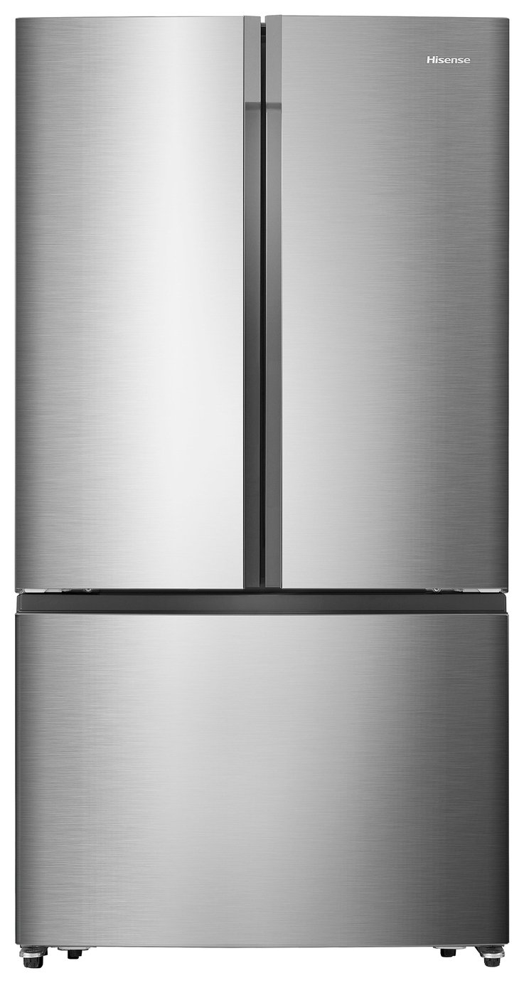 Hisense RF715N4AS1 American Fridge Freezer - Stainless Steel from Hisense