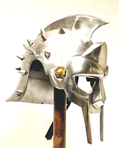 Gladiator Maximus Helmet / fitted liner - movie / film / larp / role-play / fancy-dress from Historicks