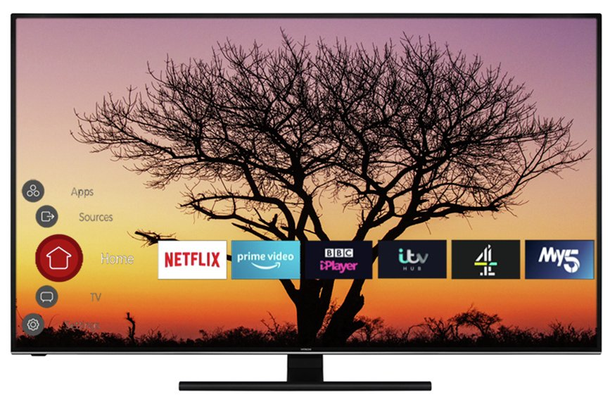 Hitachi 65 Inch Smart 4K UHD TV with HDR from Hitachi