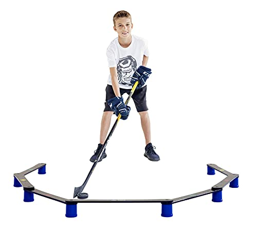 Hockey Revolution Stickhandling Training Aid, Equipment for Puck Control, Reaction Time and Coordination - MY ENEMY PRO from Hockey Revolution