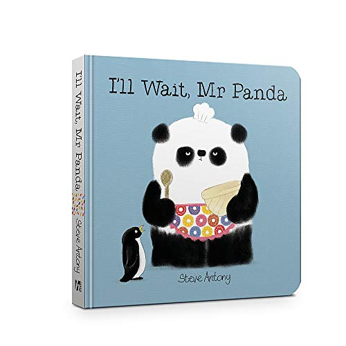 I'll Wait, Mr Panda Board Book from Hodder Children's Books