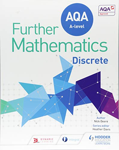 AQA A Level Further Mathematics Discrete (Aqa a Level Further Maths) from Hodder Education