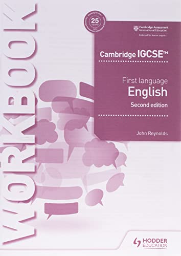 Cambridge IGCSE First Language English Workbook 2nd edition (Cambridge Igcse & O Level) from Hodder Education