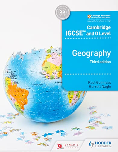Cambridge IGCSE and O Level Geography 3rd edition (Cambridge Igcse & O Level) from Hodder Education