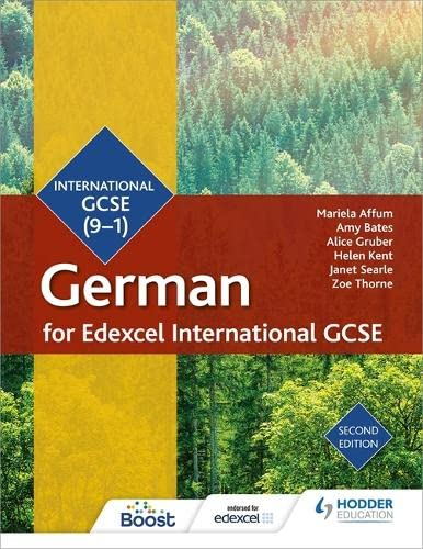 Edexcel International GCSE German Student Book Second Edition (Edexcel Student Books) from Hodder Education
