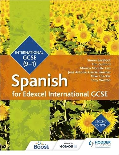 Edexcel International GCSE Spanish Student Book Second Edition (Edexcel Student Books) from Hodder Education