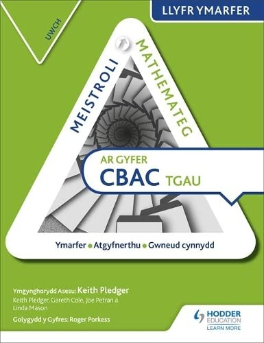Meistroli Mathemateg CBAC TGAU Llyr Ymarfer: Uwch (Mastering Mathematics for WJEC GCSE Practice Book: Higher Welsh-language edition) from Hodder Education