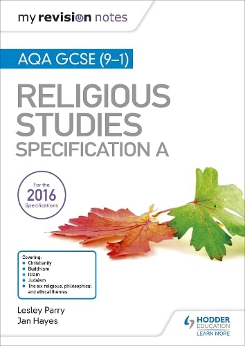 My Revision Notes AQA GCSE (9-1) Religious Studies Specification A from Hodder Education