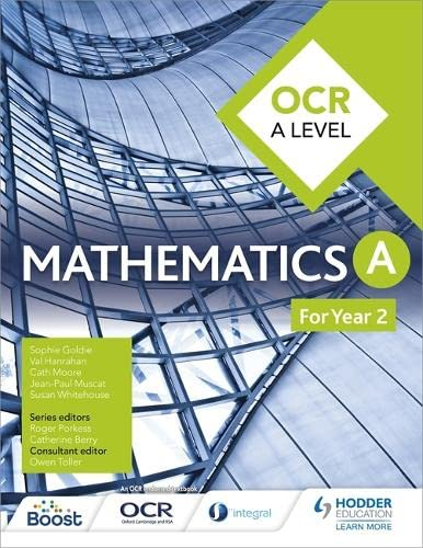 OCR A Level Mathematics Year 2 from Hodder Education