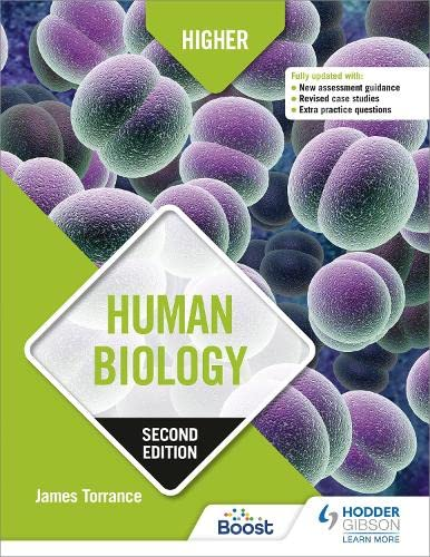 Higher Human Biology: Second Edition from Hodder Gibson