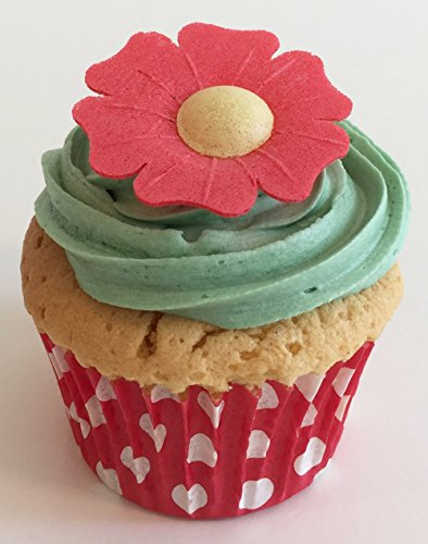 100 Beautiful 3d Edible Flower Cake Decorations: Red Poppies from Holly Cupcakes