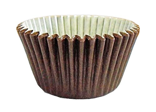 12 Muffin/ Cupcake Cases by Holly Cupcakes: Brown from Holly Cupcakes