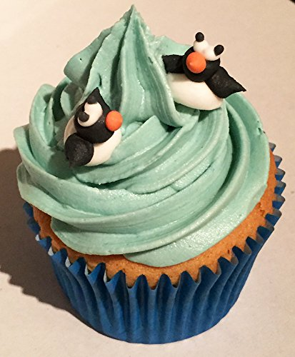 24 Sugar Mini Penguins- Gorgeous, edible and handmade with love in the UK! from Holly Cupcakes